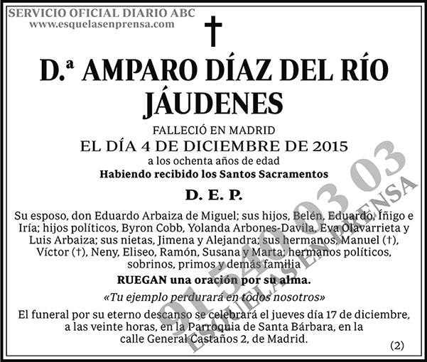 Amparo Díaz del Río Jáudenes